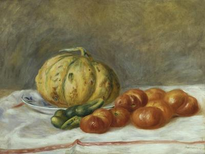 Melon and Tomatoes, 1903