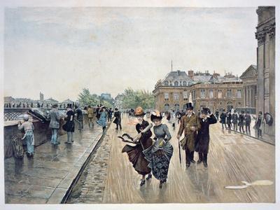 Un Coup De Vent, C.1889