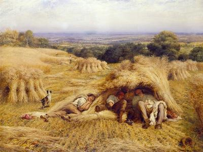 The Noonday Rest, 1862