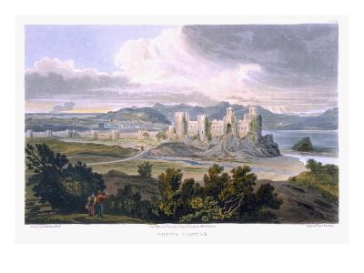 Conwy Castle, 1820