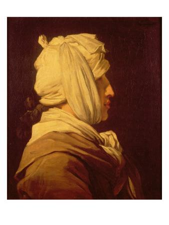 Woman with a Bandage