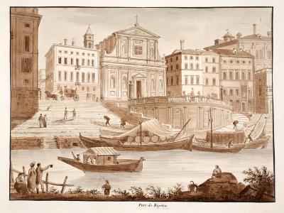 Porto Di Ripetta, 1833