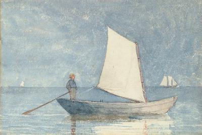 Sailing a Dory, 1880
