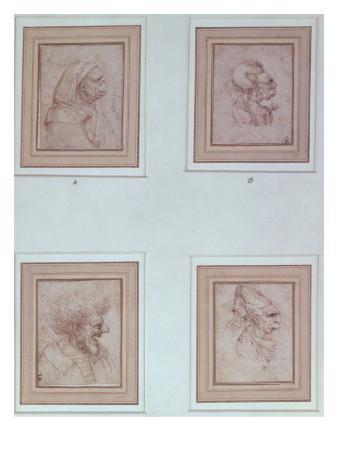 Four Caricatures