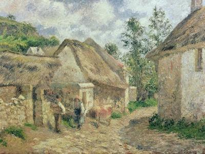 A Street in Auvers