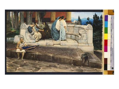 An Exedra, 1871