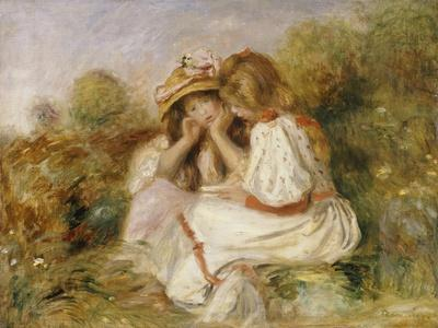 Two Girls, C.1890