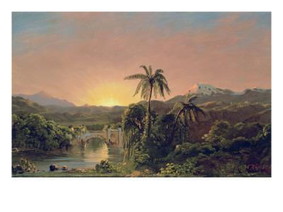 Sunset in Equador