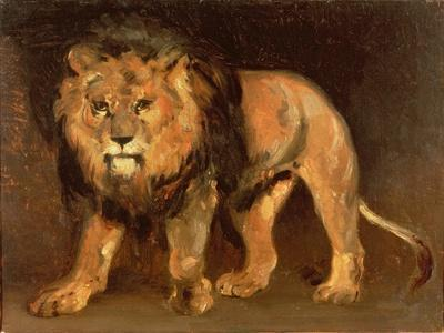 lion walking giclee print by théodore géricault at allposters com