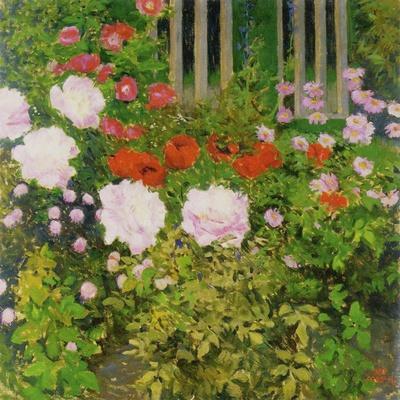 A Rose Hedge