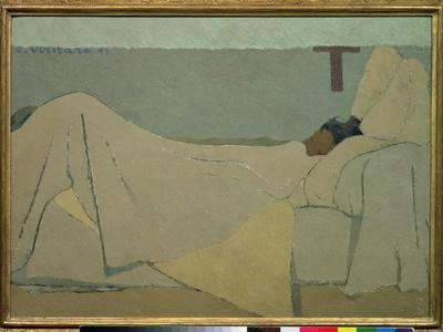 In Bed, 1891