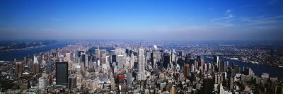 Aerial View, New York City, NYC, New York State, USA