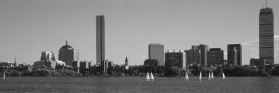 MIT Sailboats, Charles River, Boston, Massachusetts, USA
