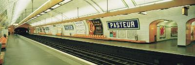 Metro Station, Paris, France