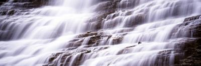 Waterfall, Glacier National Park, Montana, USA