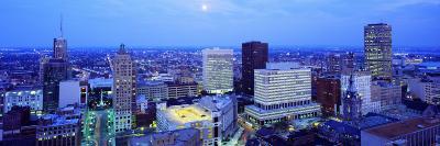 Evening, Buffalo, New York State, USA