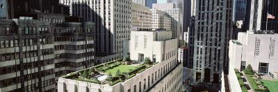 Rooftop View of Rockefeller Center, New York City, New York State, USA