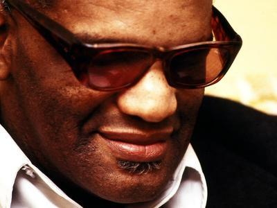 Ray Charles Pensive Portrait