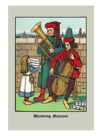 Wandering Musicians, c.1873