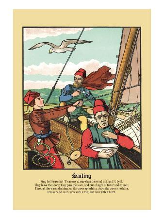 Sailing, c.1873