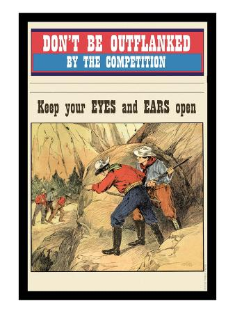 Don't Be Outflanked