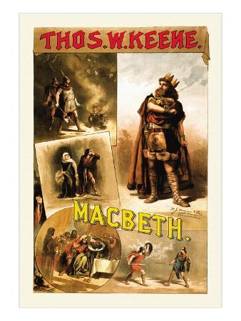 Thomas W. Keene as Macbeth, c.1884