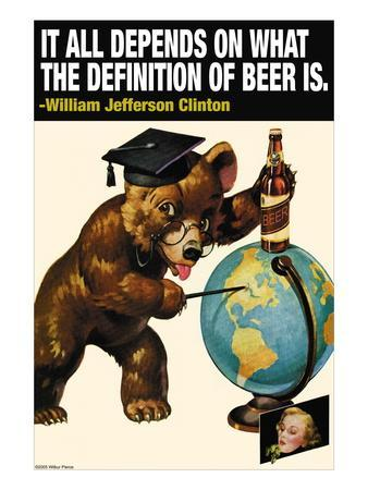It All Depends on What the Definition of Beer Is