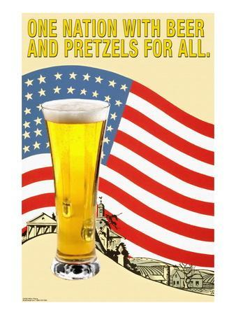 One Nation with Beer and Pretzels for All