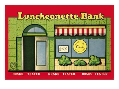 Luncheonette Bank Storefront