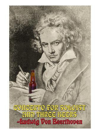Concerto for Soloist and Three Beers