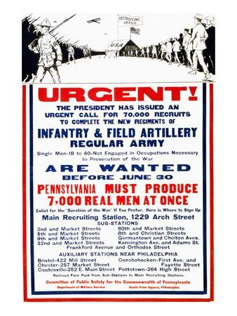 Pennsylvania Must Produce 7,000 Real Men at Once