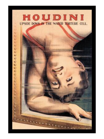 Houdini: Upside Down in the Water Torture Cell
