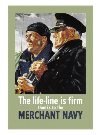 Life-Line is Firm, Thanks to the Merchant Navy