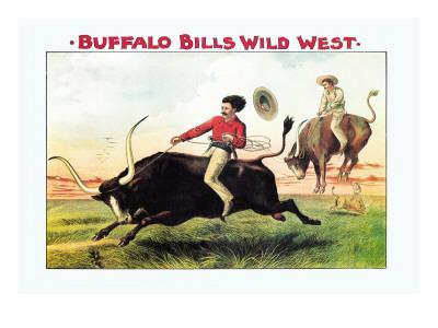 Buffalo Bill: Steer Riding