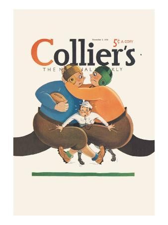 Collier's National Weekly, Referee in the Middle