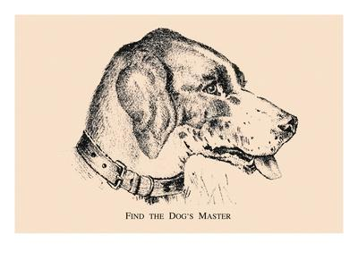 Optical Illusion Puzzle: Find the Dog's Master