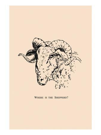 Optical Illusion Puzzle: Sheep and Shepherd