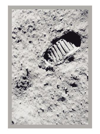The First Step on the Moon