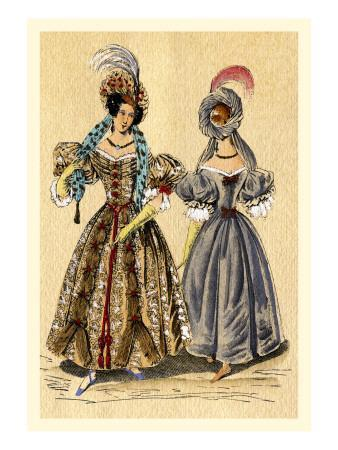 Ladies with Feathered Hats