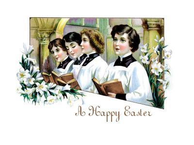 Happy Easter from the Chorus Boys