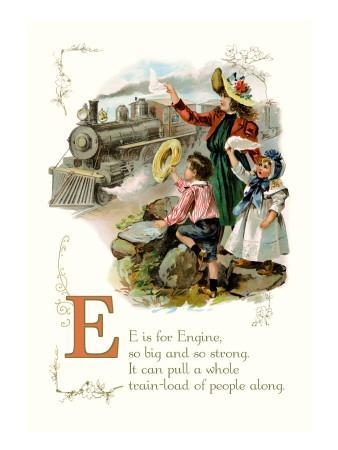 E is for Engine