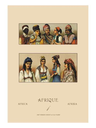 Traditional Dress of Northern Africa