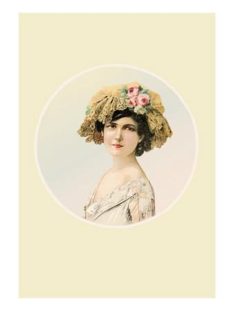 Rose and Lace Cap