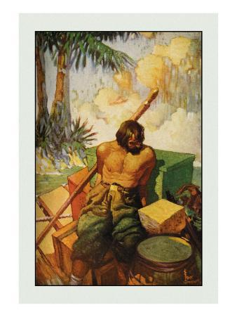 Robinson Crusoe: I Did My Utmost to Keep the Chests in Their Places