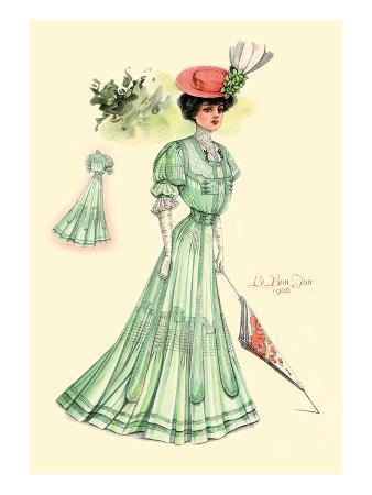 Le Bon Ton: Green for Springtime