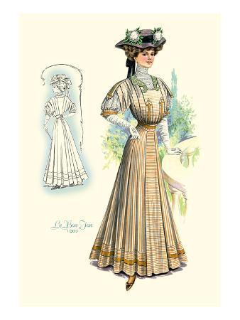 Le Bon Ton: Lady in Stripes
