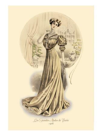 Le Grandes Modes de Paris: Golden Gown