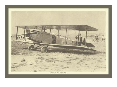 American Mail Airplane