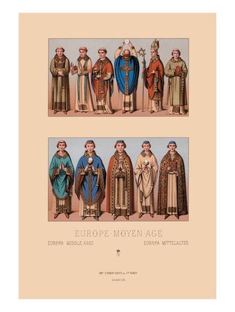Medieval Clergymen