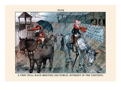 Puck Magazine: A Very Dull Race-Meeting